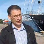 Презентация корабля «Бегущая по волнам» в Польше