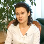 Марина Радугина - лучший работник ЗАГСа города Москвы