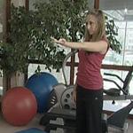 Разминка мышц после рабочего дня