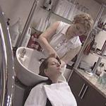 Салон красоты. Выпрямление волос