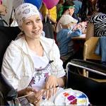 Праздник для ребятишек, больных раком