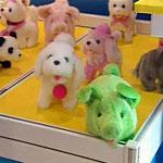Выставка игрушек - современных и старинных