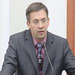 Выступление директора департамента программ развития малого и среднего бизнеса ОАО «Российский банк развития» Андрея Шоркина