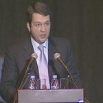 Выступление члена правления, директора департамента обслуживания клиентов малого бизнеса банка ВТБ 24 Сергея Сучкова