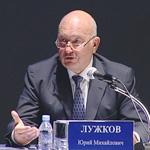 Мэр Москвы Юрий Лужков отвечает на вопросы (часть 1)