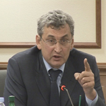 Выступление председателя Комитета ГД РФ по собственности Виктора Плескачевского
