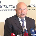Пресс-матч Юрия Лужкова